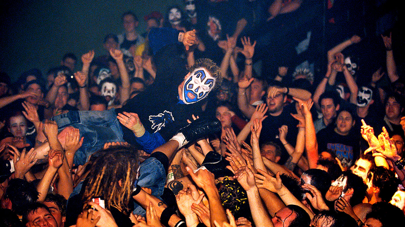 Image result for insane clown posse crowd