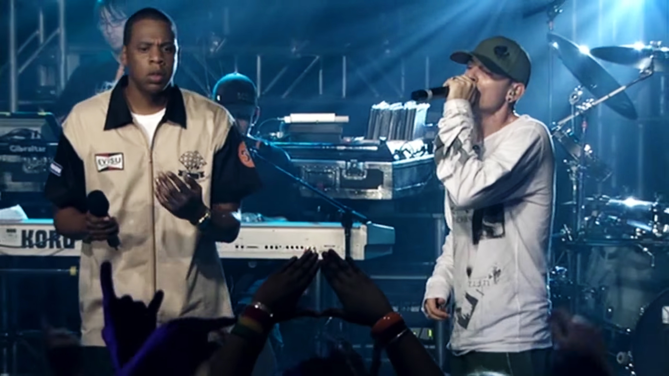 Watch Jay-Z Join Linkin Park, Chester Bennington Onstage