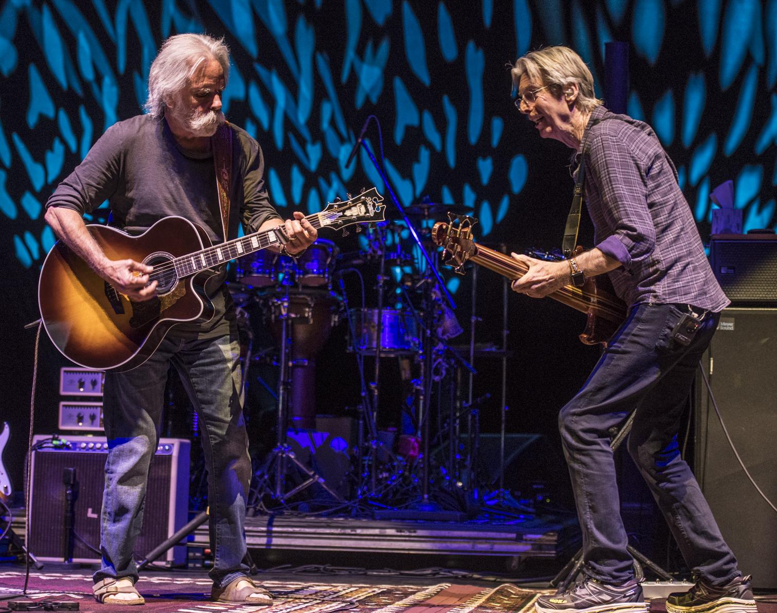Bob Weir Phil Lesh Trey Anastasio Radio City Live Review