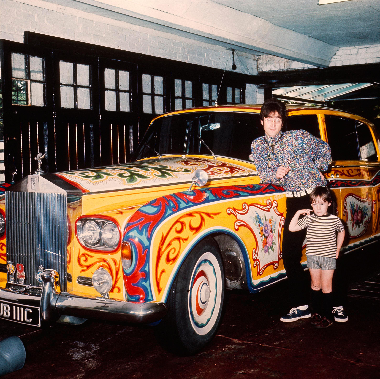 Image result for john lennon rolls royce