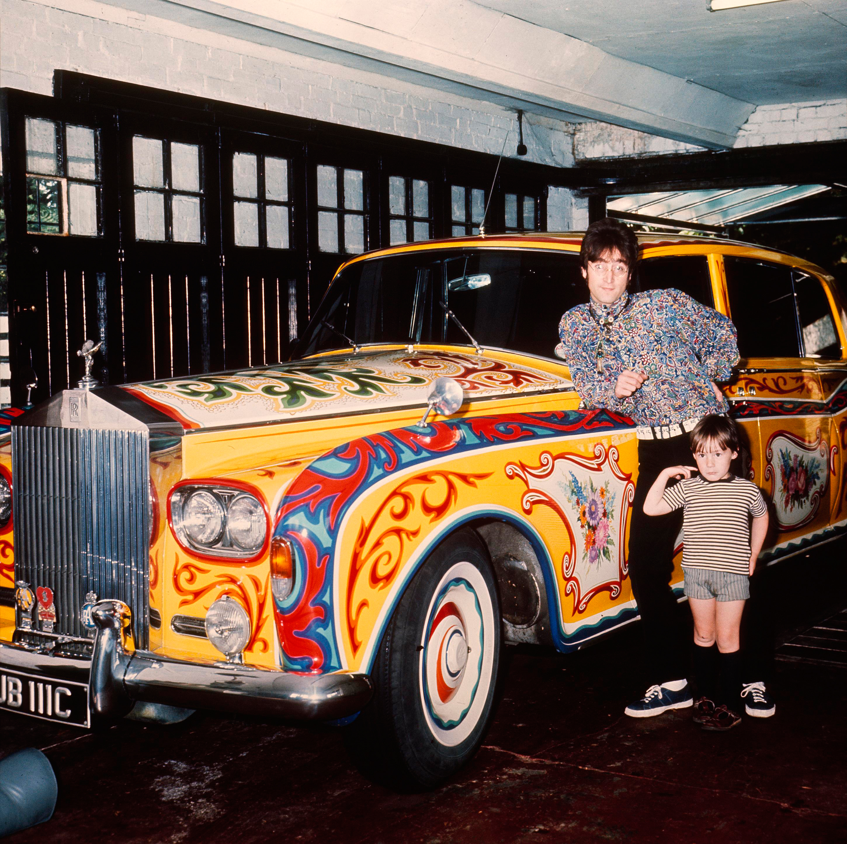 Image result for john lennon rolls royce