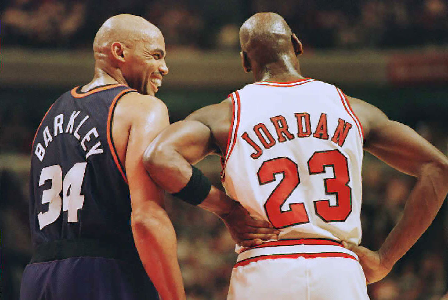 timeless design 3bdb3 6cf1f Why Michael Jordan and Charles Barkley s Friendship Ended