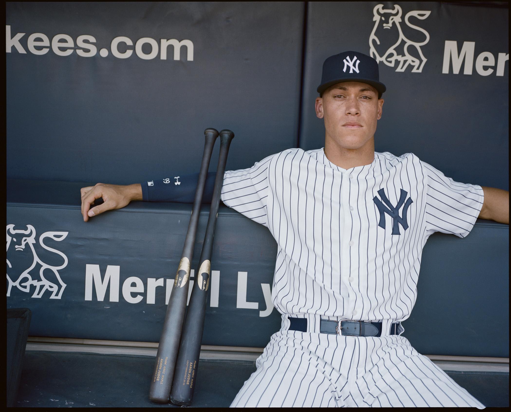 Aaron Judge  New York Yankees Slugger Is Changing Baseball – Rolling ... 3f0f941cefa4