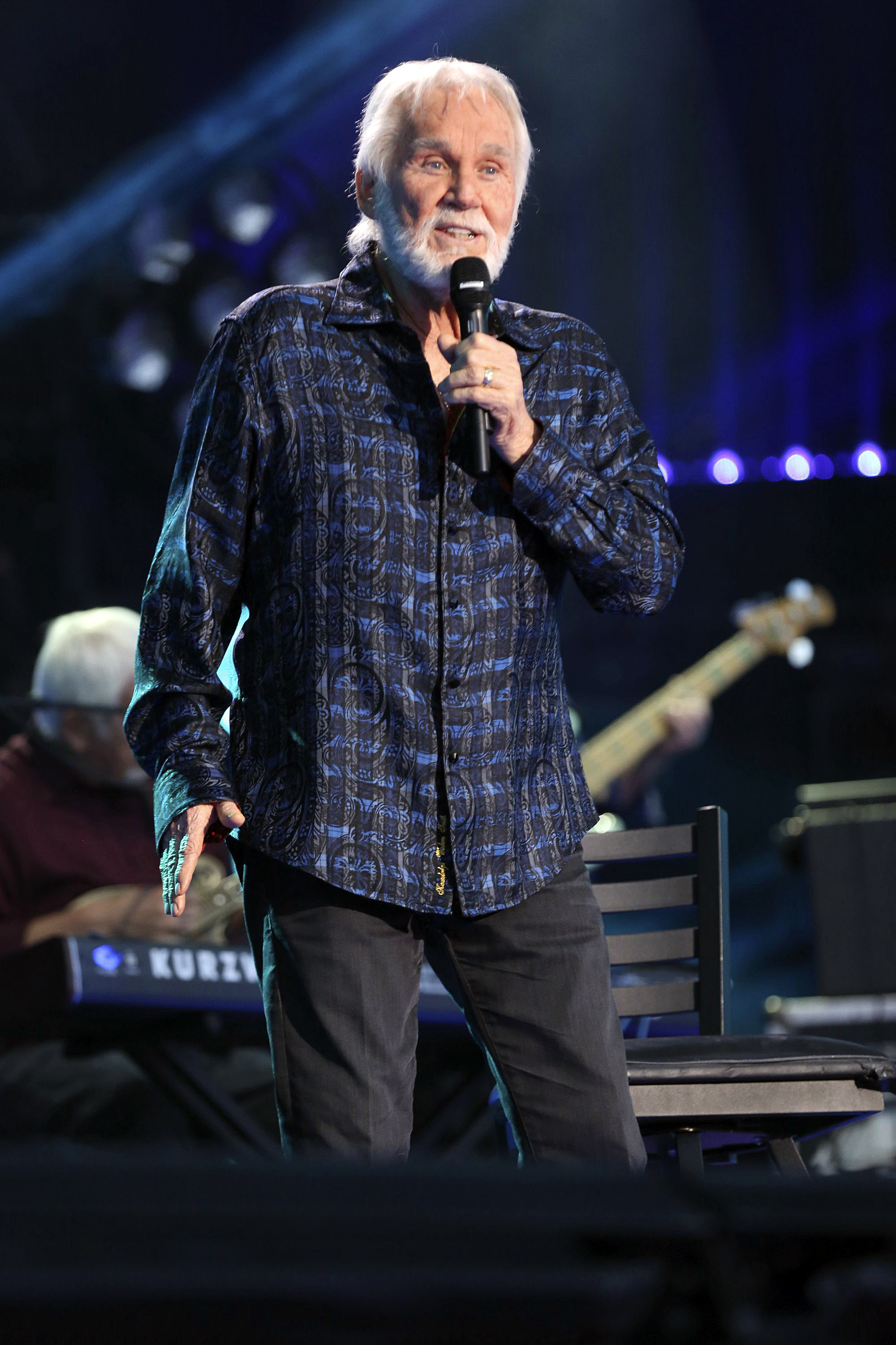 Kenny rogers tour canceled due to health challenges rolling stone kenny rogers performs at the 2017 cma music festival at nissan stadium on in nashville m4hsunfo