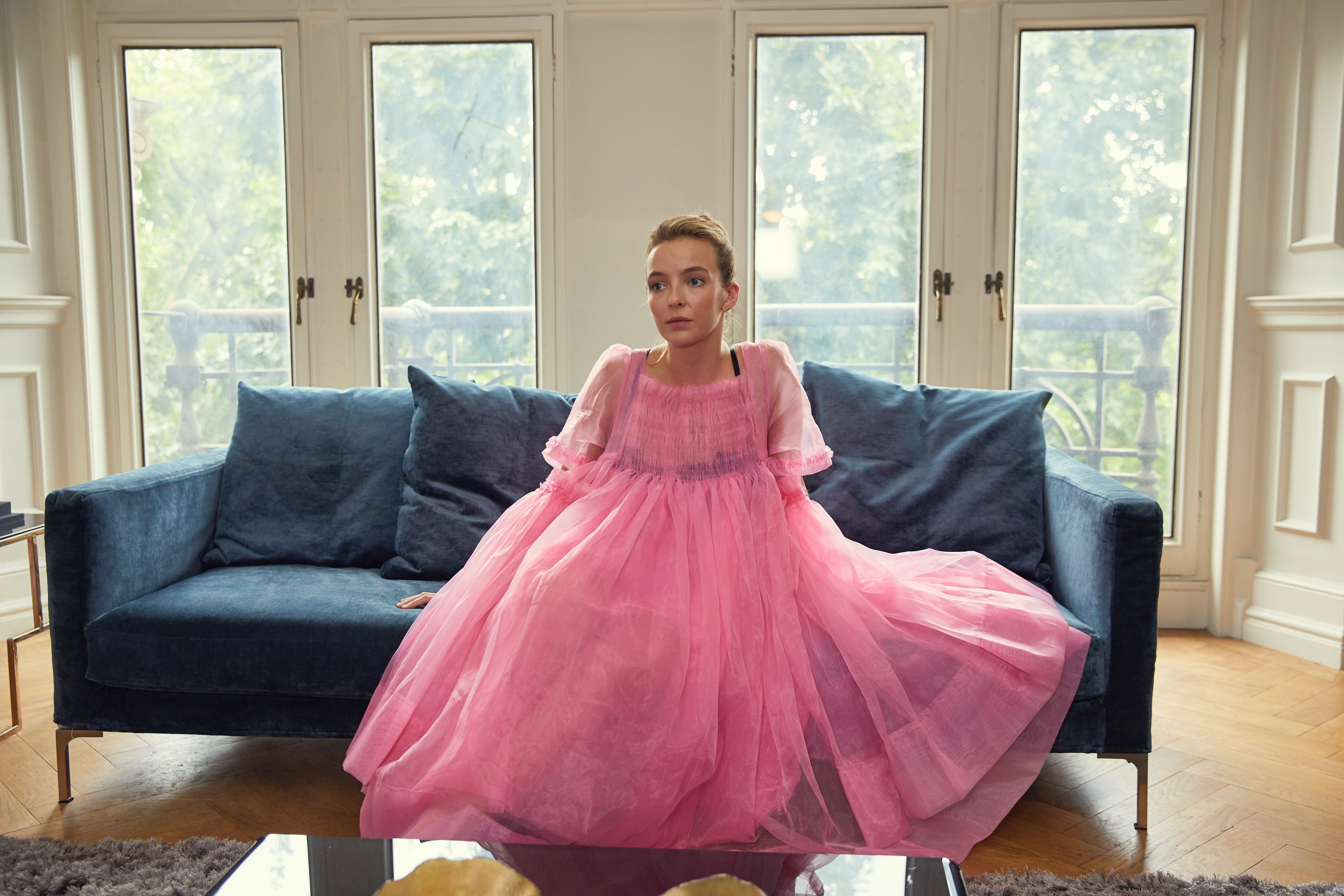Killing Eve\': How Jodie Comer Turned a Pink-Dressed Psychopath Into ...