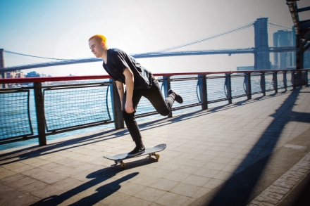 Lacey Baker: The Rebel Queen of Skateboarding – Rolling Stone