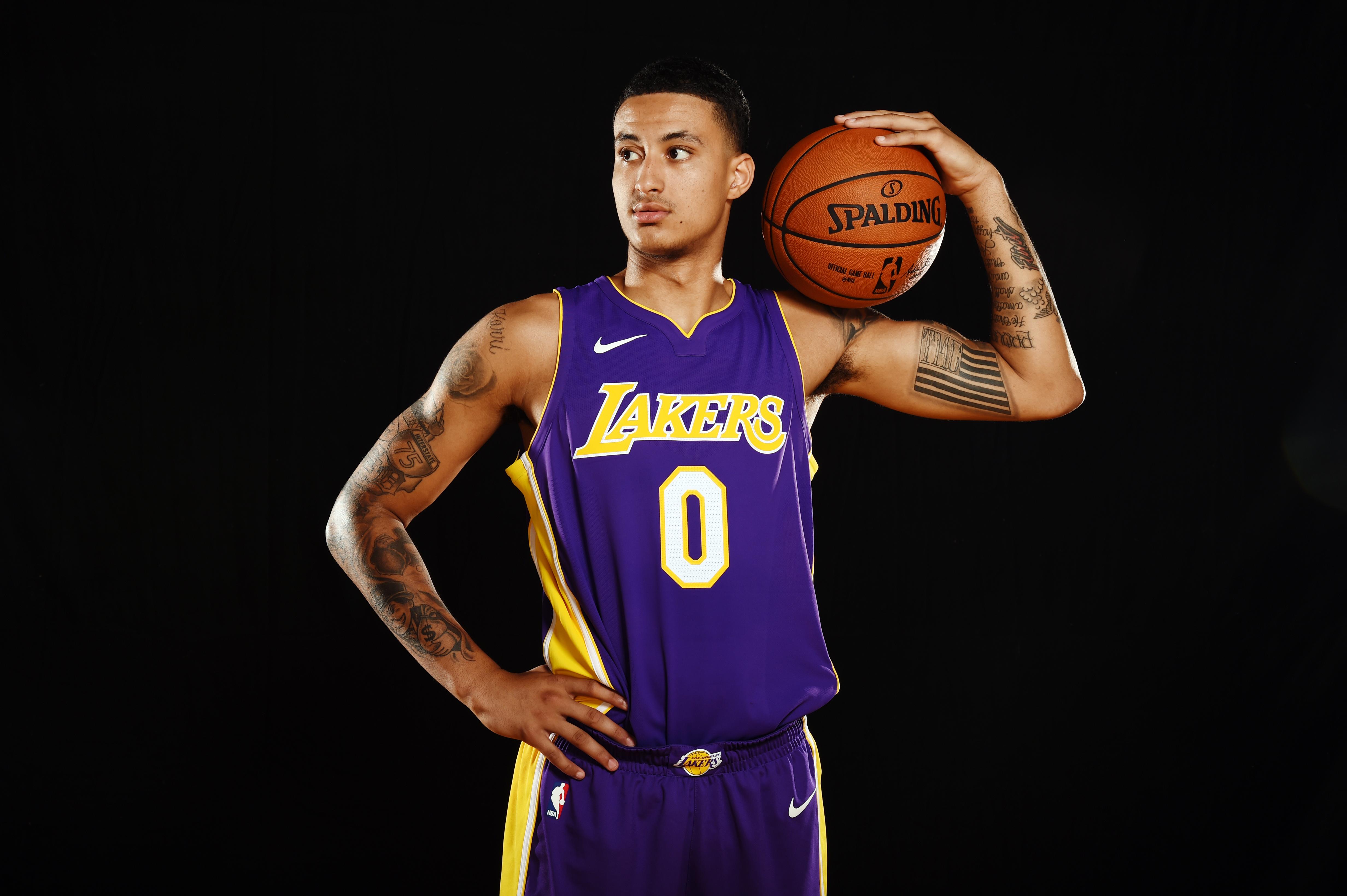 f0cbc7044e7 Lakers Rookie Kyle Kuzma on Kendrick Lamar, Kobe Bryant, Tupac ...