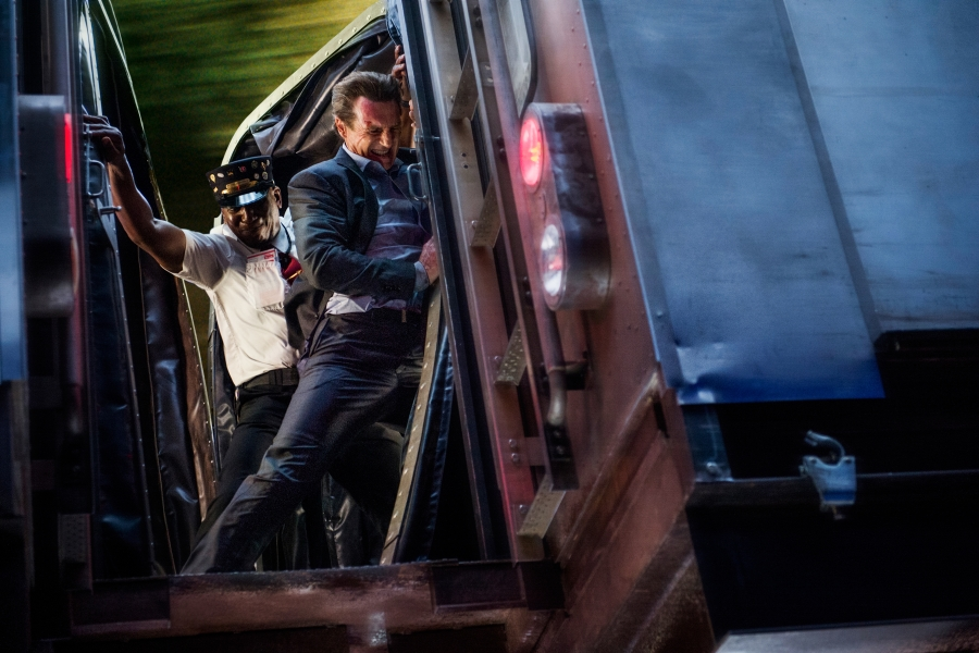 Peter Travers: Liam Neeson's 'The Commuter is 'Taken' on a