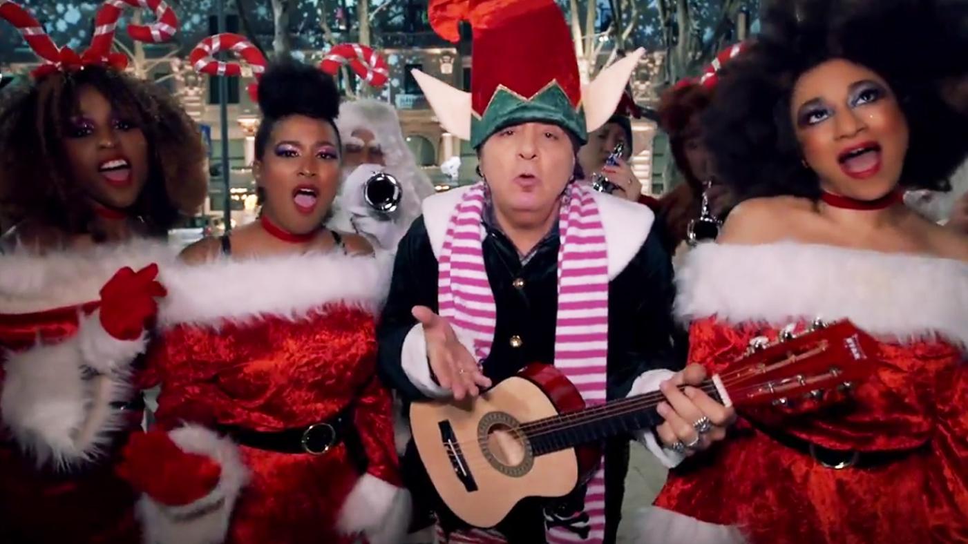 watch steven van zandts jubilant video for ramones merry christmas