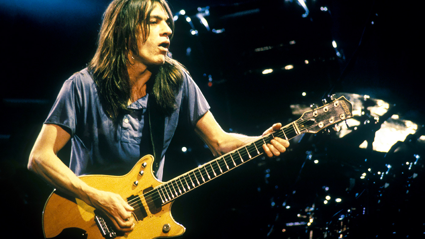 Remembering Ac Dc S Malcolm Young Band S Unassuming