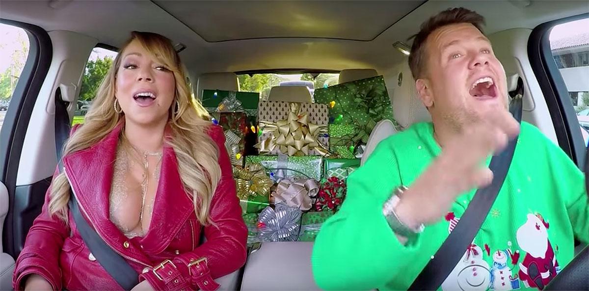 See Mariah Carey, Adele, Gaga Sing Christmas \'Carpool Karaoke ...