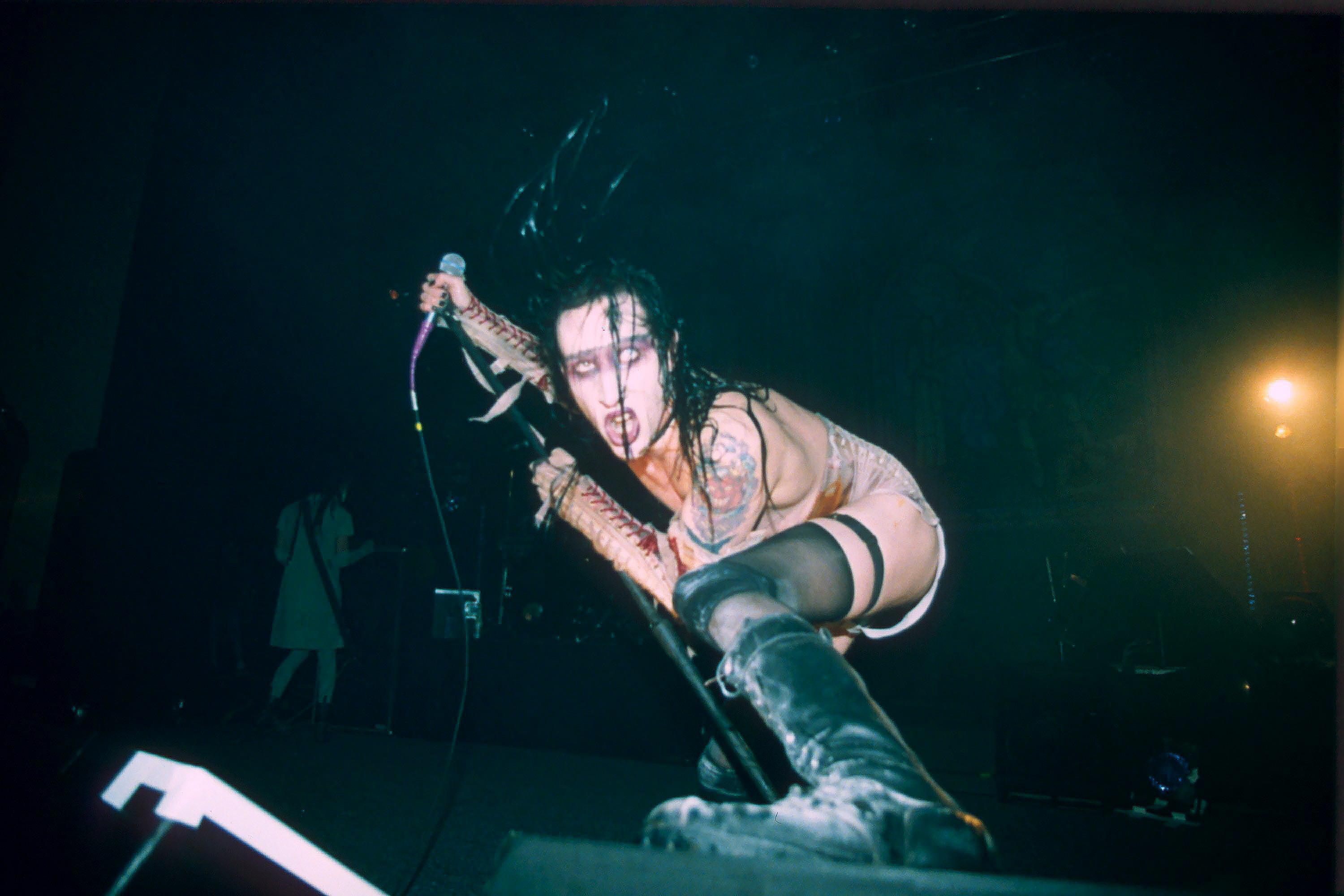 Marilyn manson sex onstage