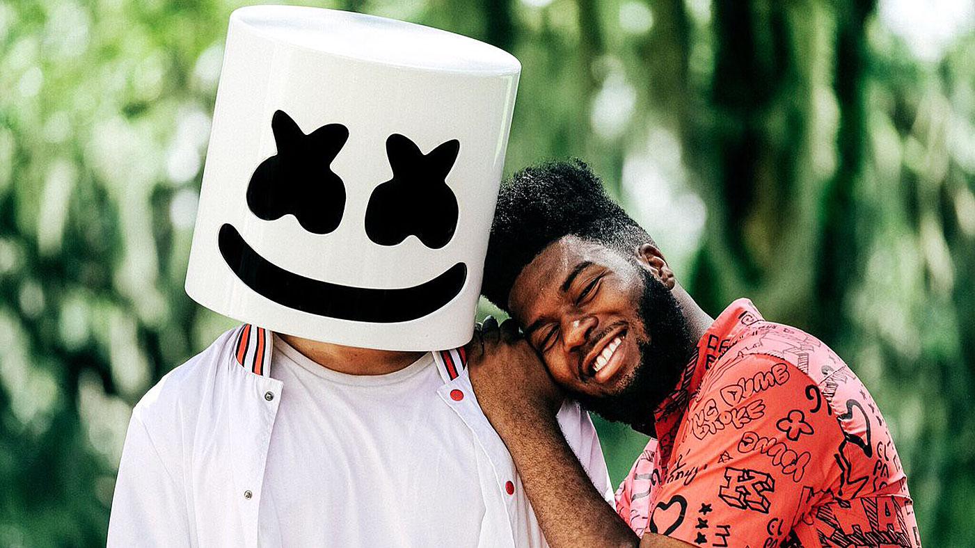 Hear Marshmello Khalid Unite On Stirring New Song