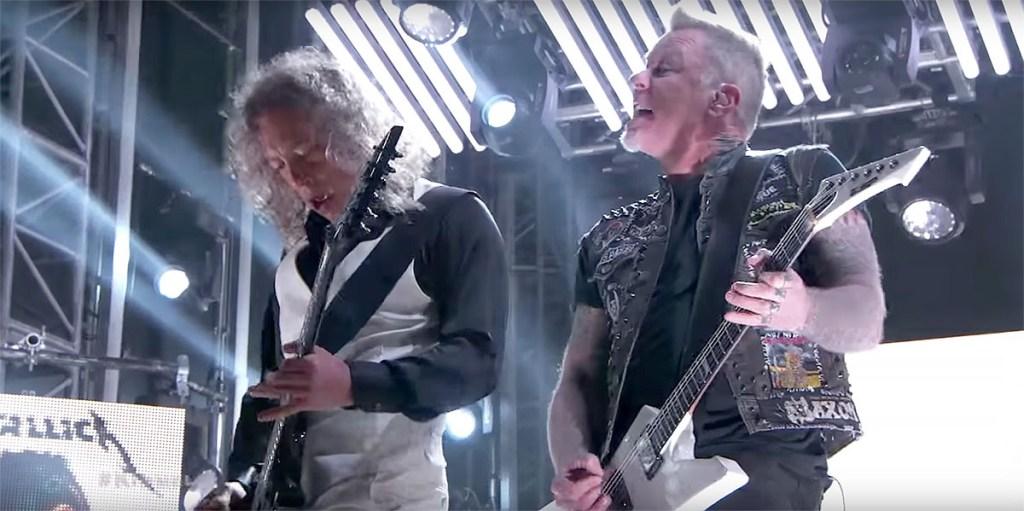Watch Metallica Deliver Punishing 'Atlas, Rise! on 'Kimmel'