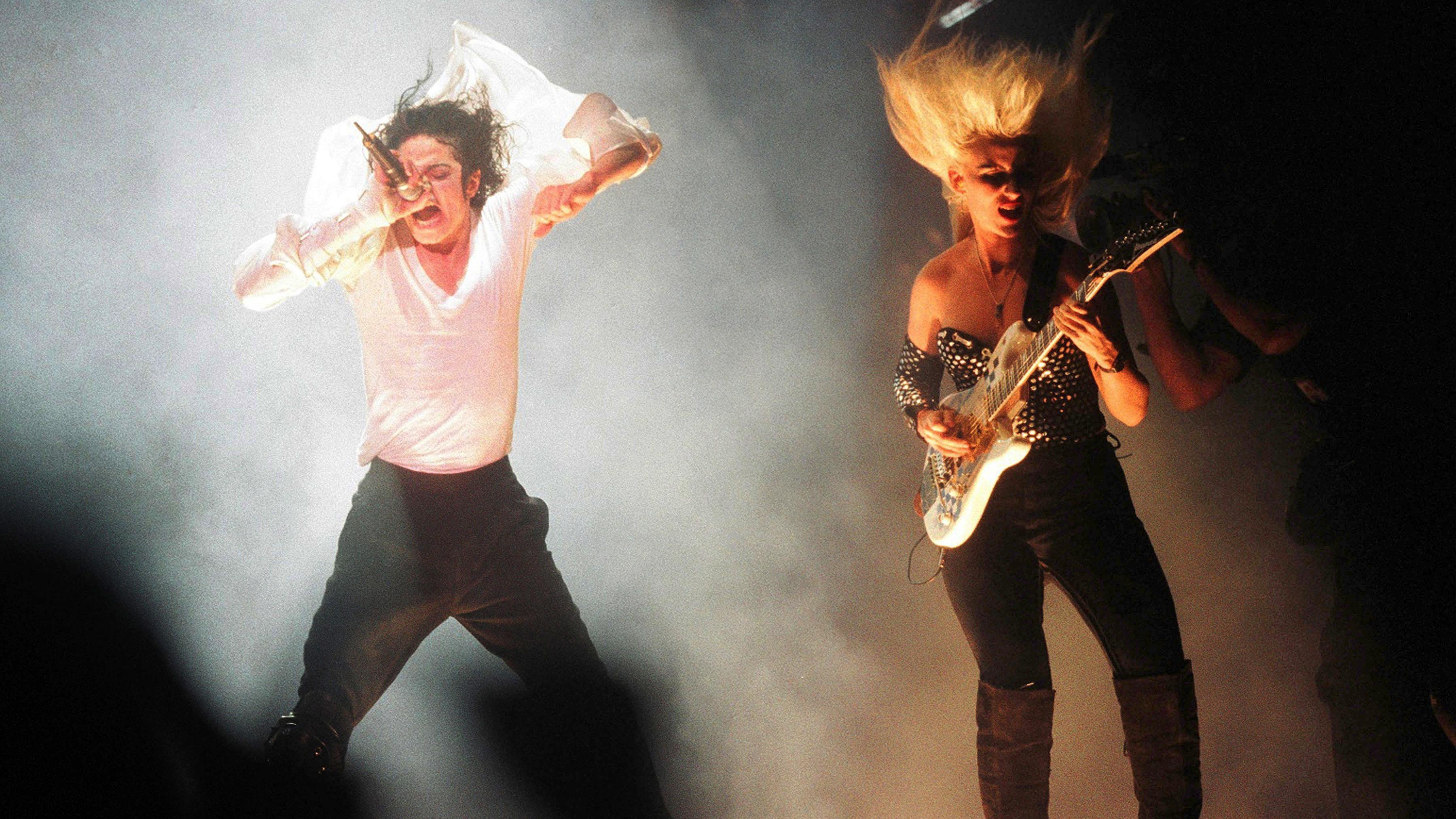 Michael Jackson Janet Jackson S Hard Rock Beat It Black Cat