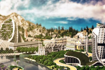 Meet 'Minecraft' Builders Who Craft Detailed Virtual Worlds