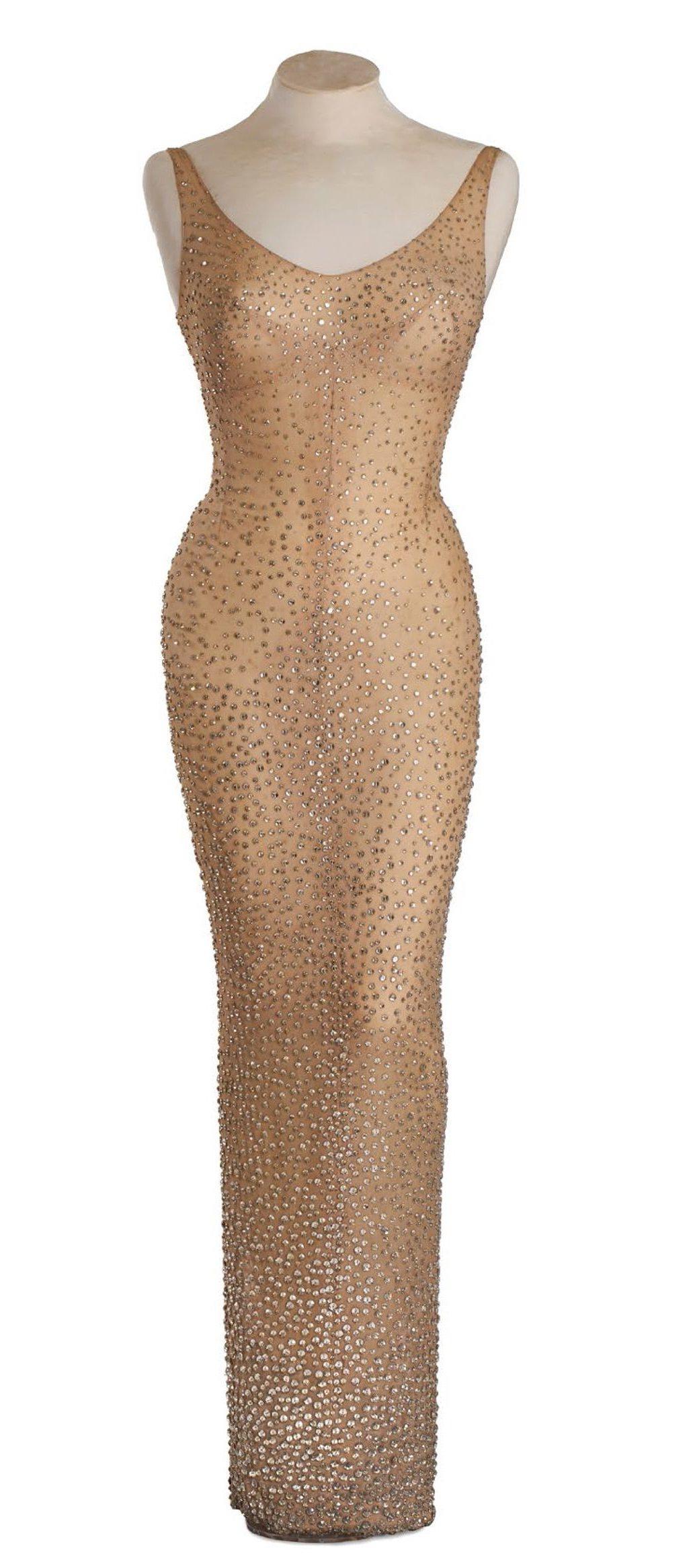 Marilyn Monroe's Kennedy Dress Sells for $4 8 Million