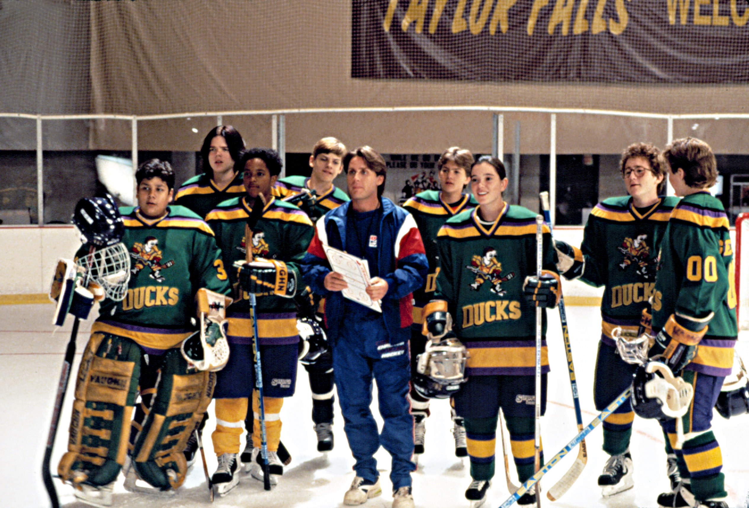 outlet store 9c7ac 55f23 The Mighty Ducks may take the ice again as a television series about  Disney s underdog Minnesota hockey team is currently in development.