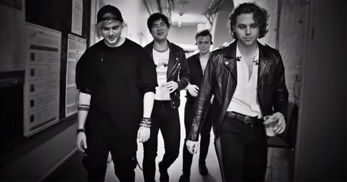 Review 5 Seconds Of Summer Go Full On Pop With Youngblood
