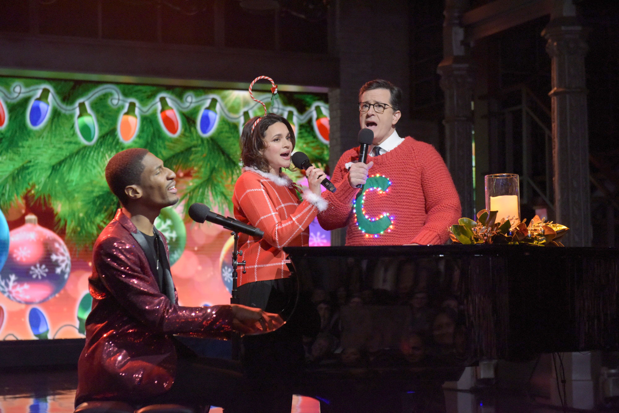 See Stephen Colbert, Norah Jones Debut \'Worst\' New Xmas Tune ...