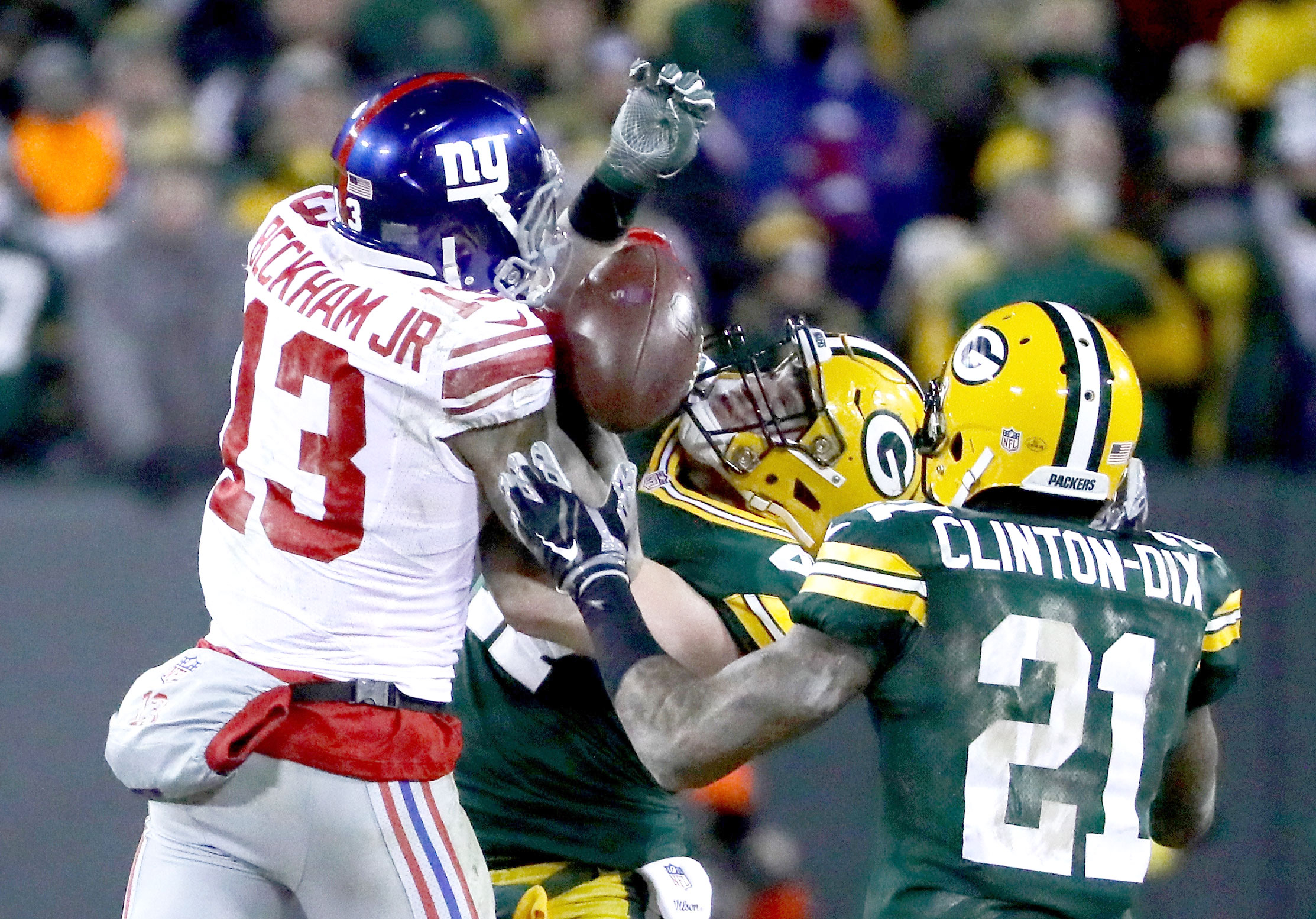 6a2b2452e Odell Beckham Jr. is the focal point of the New York Giants whether he likes