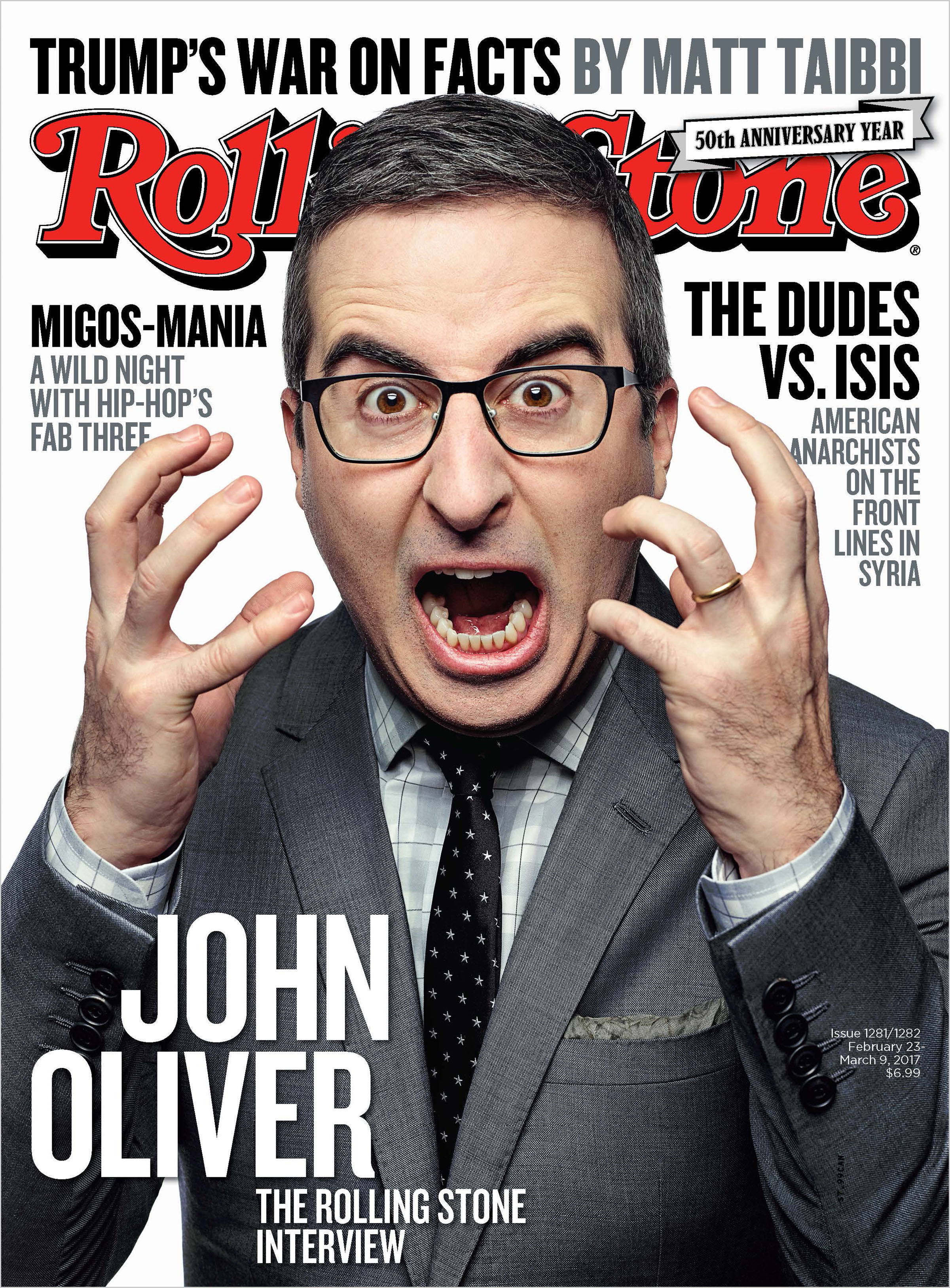 John Oliver vs  the Trump Era: The Rolling Stone Interview