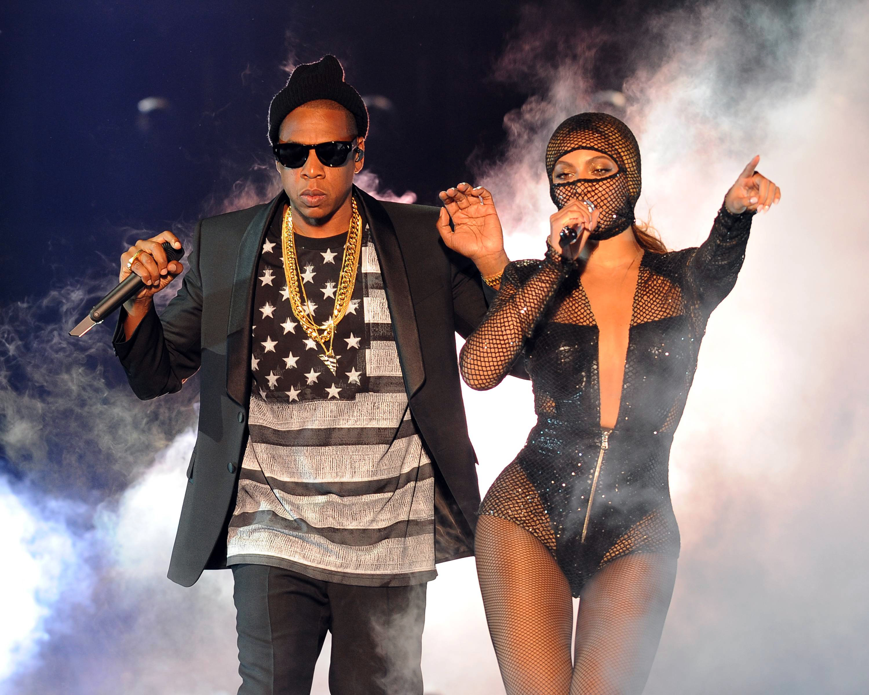 Beyonce and jay zs first on the run tour song by song rolling beyonce and jay zs first on the run tour song by song rolling stone malvernweather Choice Image
