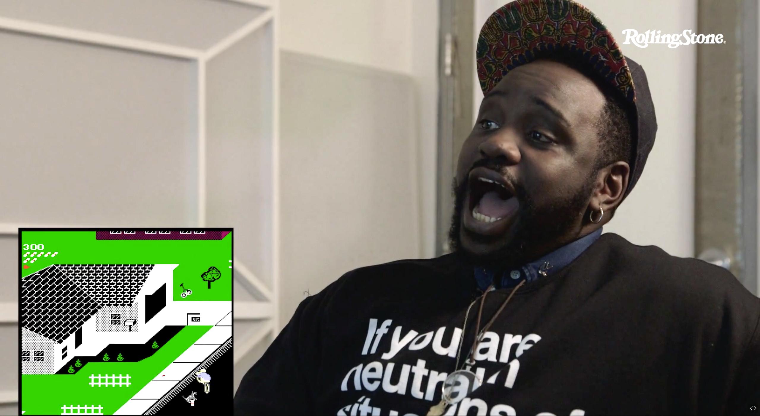 See 'Atlanta' Star Paper Boi Play 'Paperboy,' Talk Hip-Hop