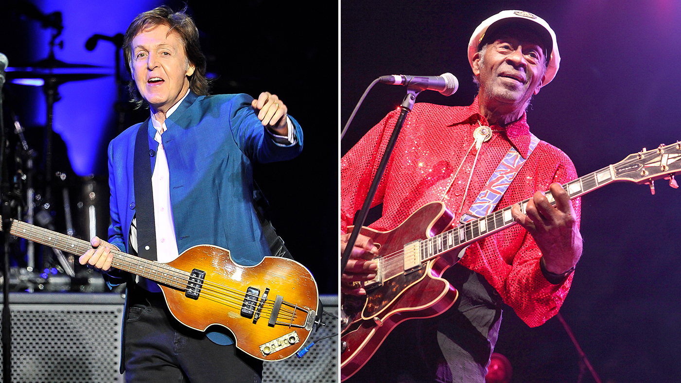 Paul Mccartney On Chuck Berry He Was A Magician Rolling Stone