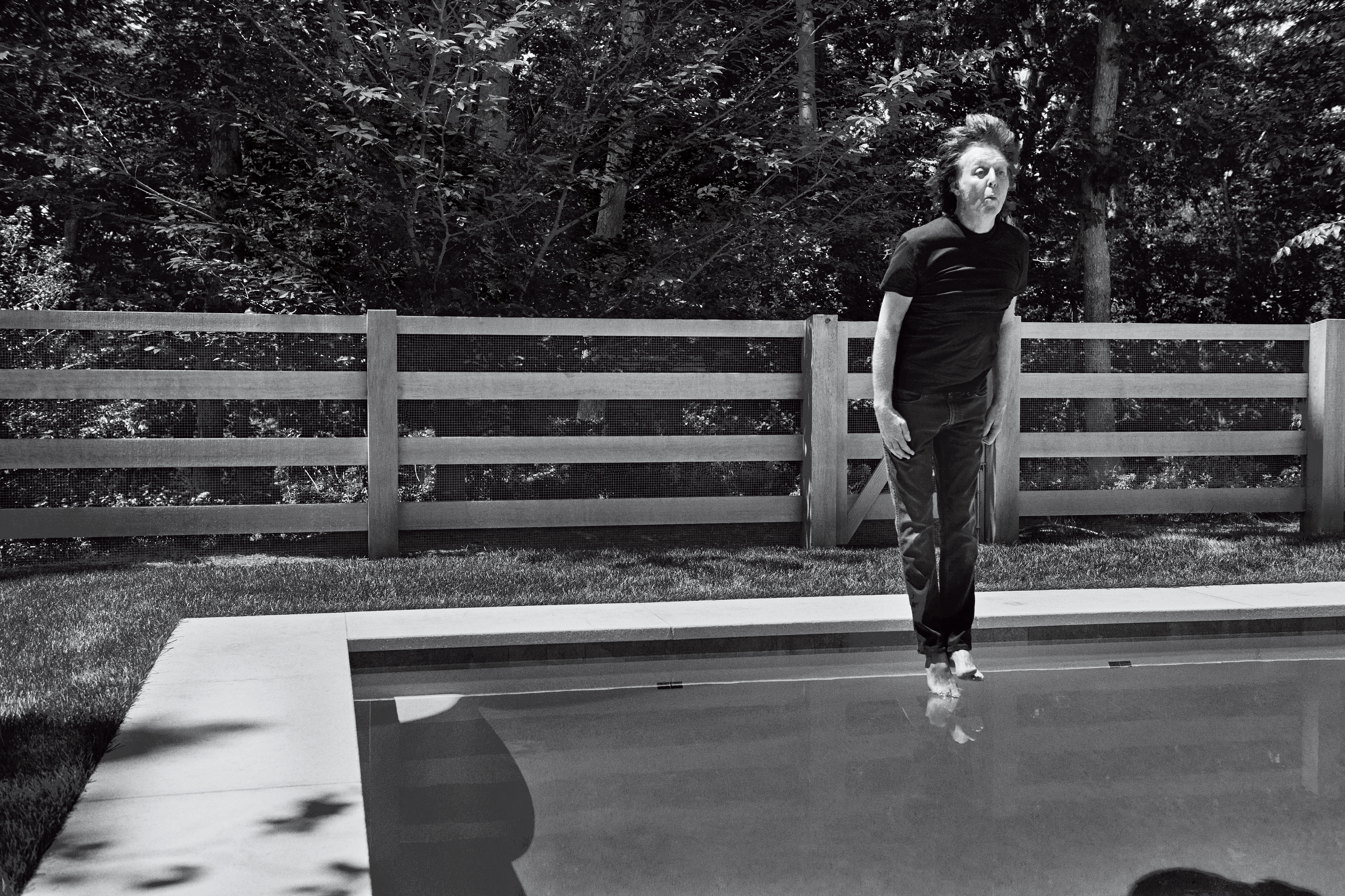 Paul McCartney Rolling Stone Interview 2016 Jumping Pool