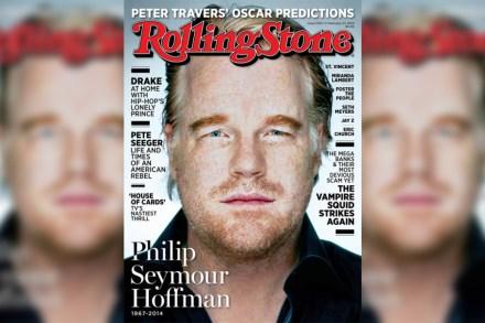 Philip Seymour Hoffmans Last Days Rolling Stone