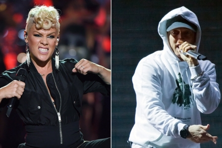 Hear Pink, Eminem Get 'Revenge' on Cheater on Bubbly New Song