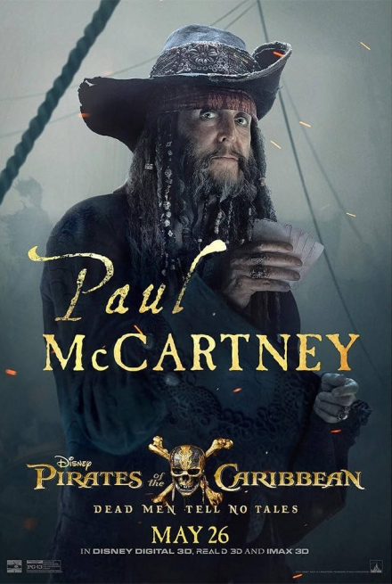 Pirates Of The Caribbean Directors Talk Mccartney Cameo Rolling Stone