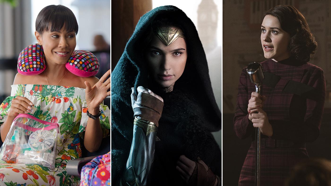 Wonder Woman Girls Trip Lady Bird Year Of Women In Movies