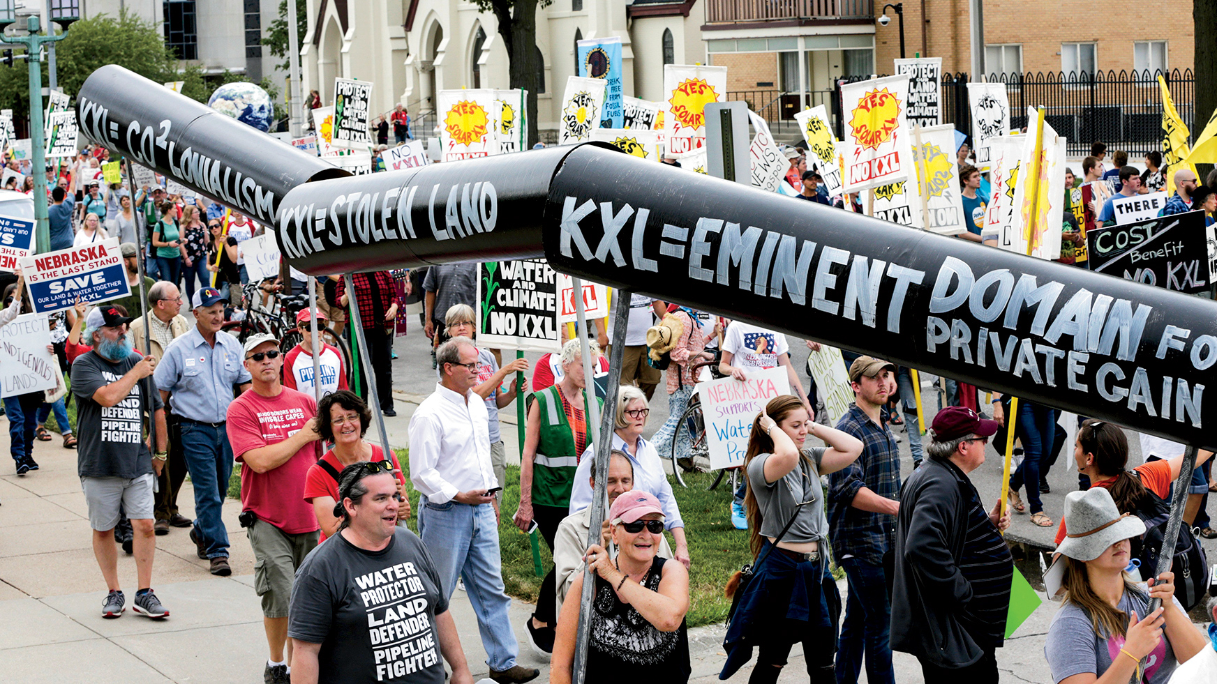 A Final Fight for the Keystone Pipeline – Rolling Stone