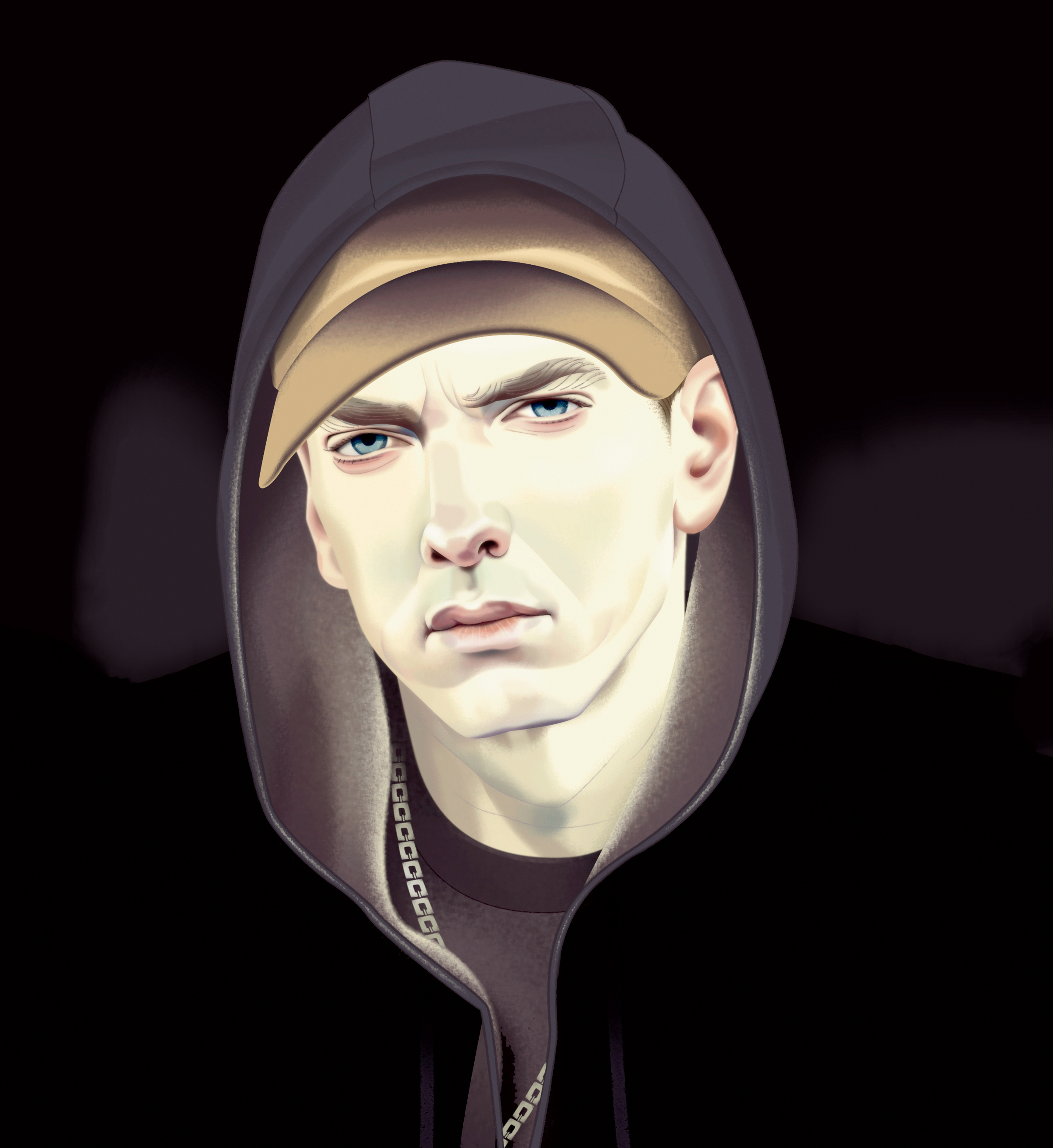 Review eminem is raw honest and compelling as ever on revival eminem illustration revival record review stopboris Image collections