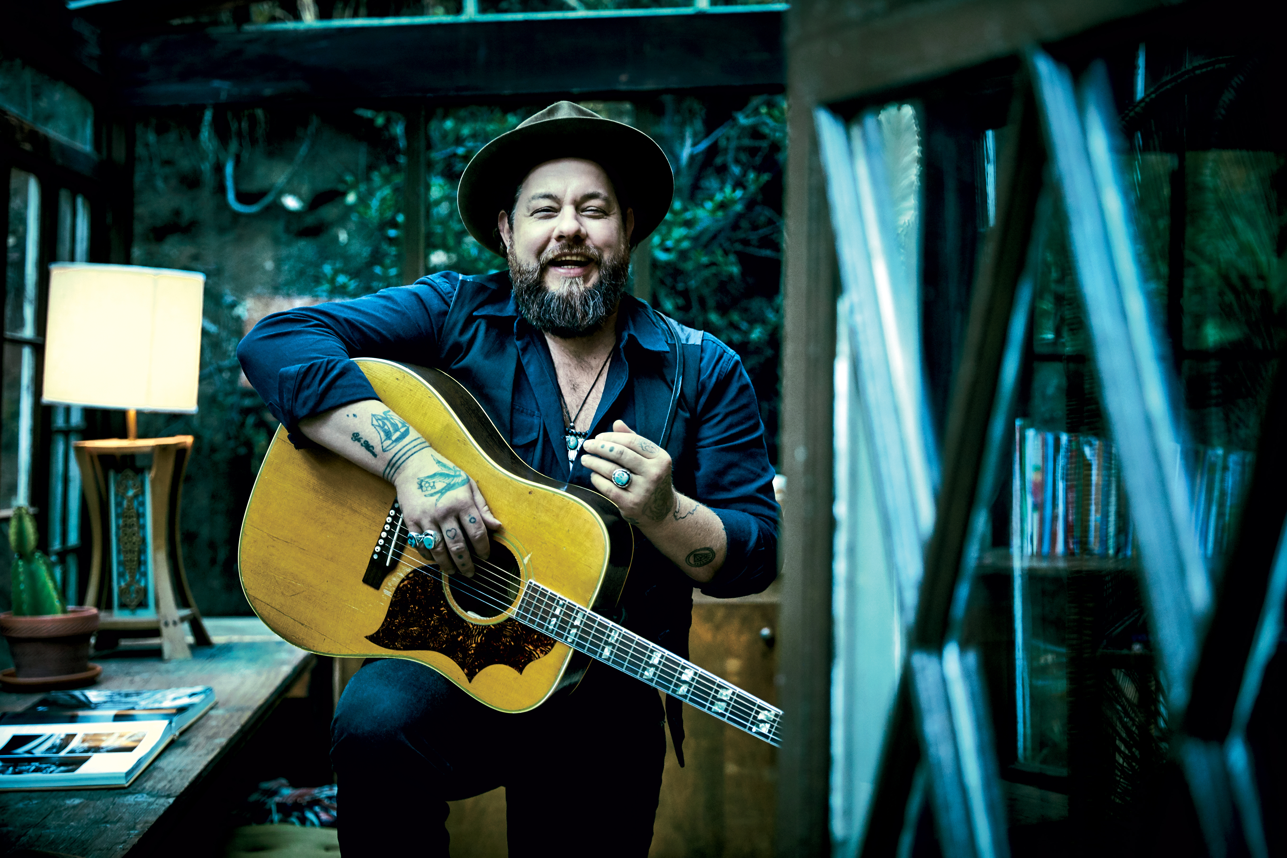 Tough S.O.B.: Rateliff in February in L.A.