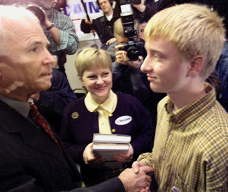 john mccain south carolina primary 2000 presidential republican chris duren