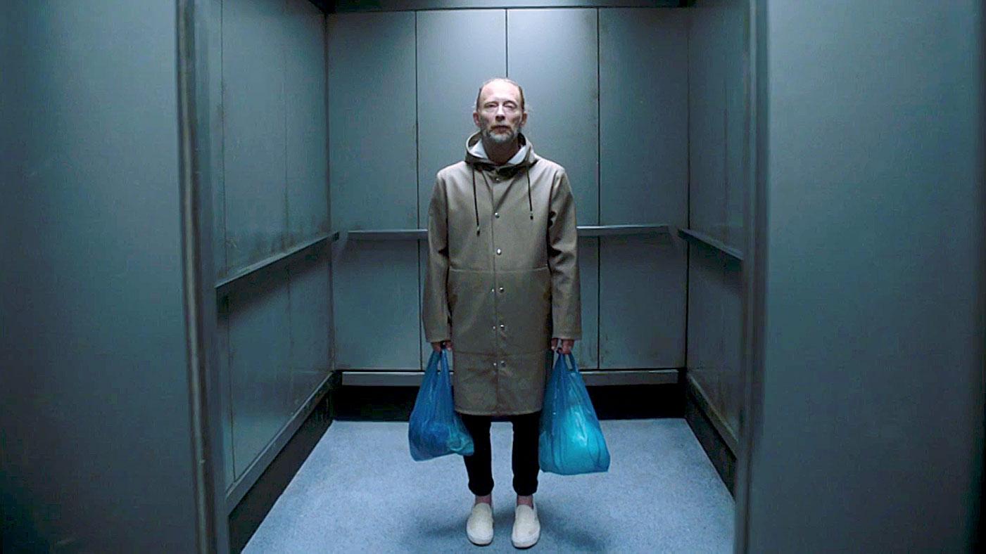 Thom Yorke Gets Stuck in Elevator in Radiohead's 'Lift