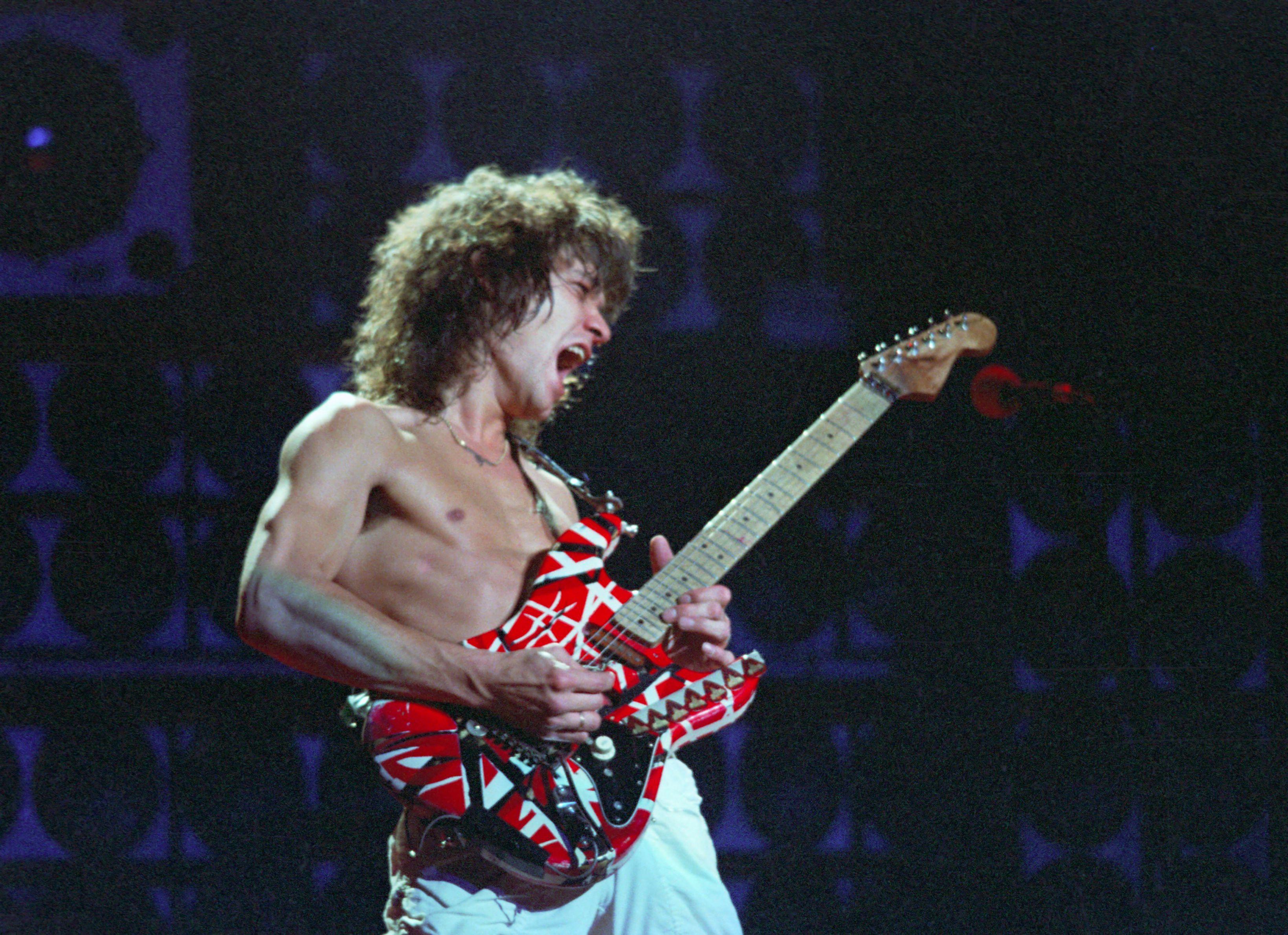 Eddie Van Halen Donates Guitars To Low Income Schools Rolling Stone