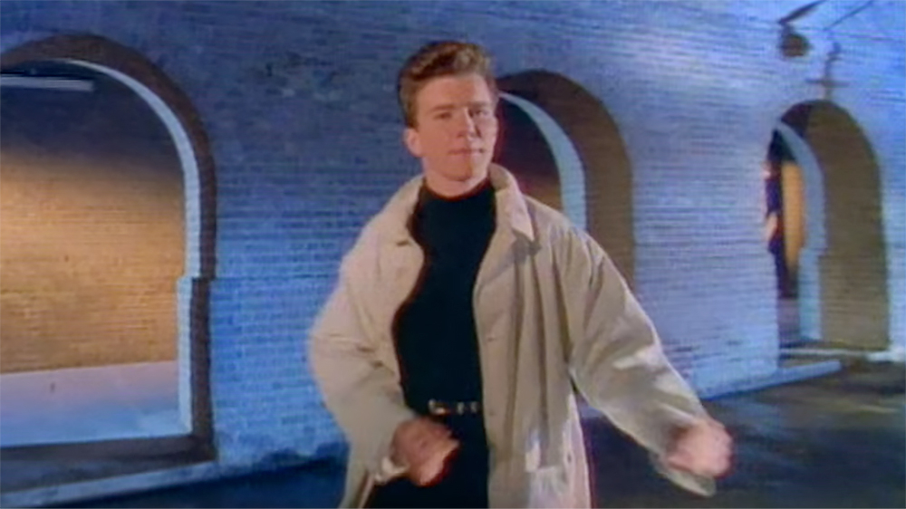best rickrolls rick astley s give you up turns 30 rolling stone
