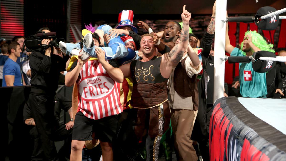Kofi Kingstons Five Best Wwe Royal Rumble Escapes Rolling Stone