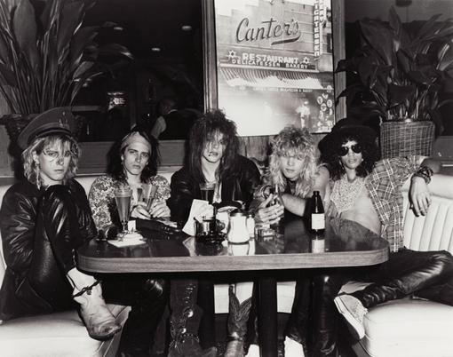 Guns N' Roses at Canter's Deli