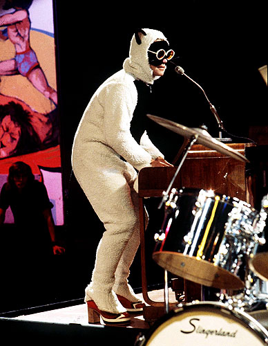 Photos Elton John\u0027s Outfits Through the Years \u2013 Rolling Stone
