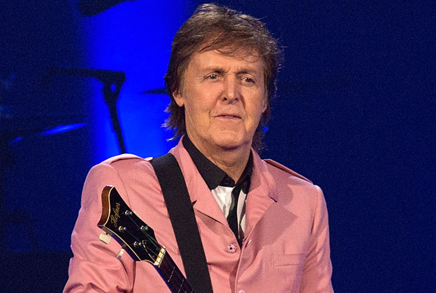 Paul McCartney Leaves Guitar Pick at Elvis Presley's Grave