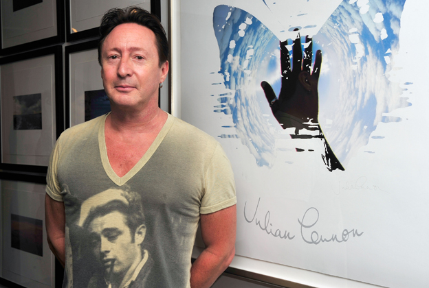 Julian Lennon Attends His Everything Changes CD Release Event At Morrison Hotel Gallery In