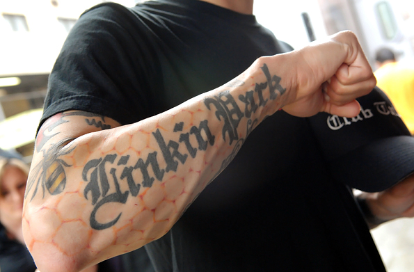 Fans Bad And Bad Ass Rock Tattoos Rolling Stone
