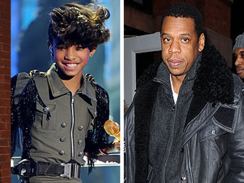 Jay-Z and Willow Smith collaborate on 'Annie' remake