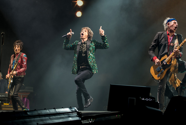 Rolling Stones Pack in the Hits With Stripped-Down Glastonbury Set