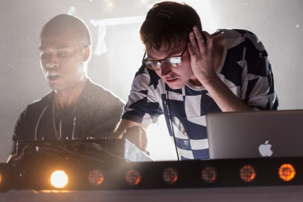 Backstage With TNGHT: Lunice Pierre and Hudson Mohawke Talk